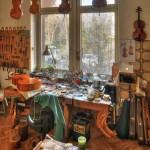 Atelier de luthier