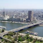Vue plongeante du Caire