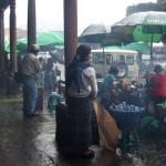 Pluie sur Antigua