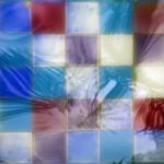 Reflet abstrait