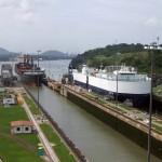 Entrée dans le canal du Panama